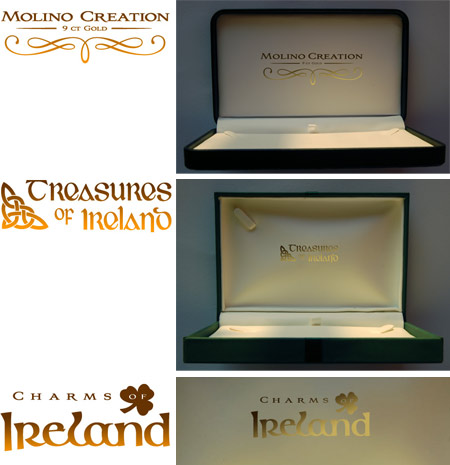 Logos for Mollins jewellers